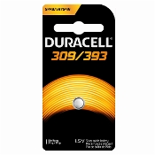 Duracell 309 393 1.5V Silver Oxide Button Cell Battery