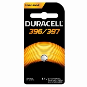 Duracell 396 397 1.5V Silver Oxide Button Cell Battery