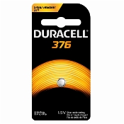 Duracell 376 1.5V Silver Oxide Button Cell Battery