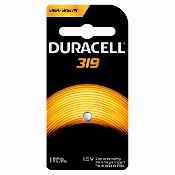 Duracell 319 1.5V Silver Oxide Button Cell Battery