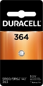 Duracell 364 1.5V Silver Oxide Button Cell Battery