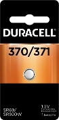 Duracell 370 3711.5V Silver Oxide Button Cell Battery