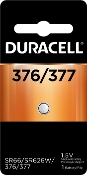 Duracell 377 1.5V Silver Oxide Button Cell Battery