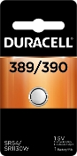 Duracell 389 390 1.5V Silver Oxide Button Cell Battery