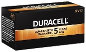 12 9V Duracell CopperTop alkaline batteries MN1604