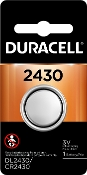 Duracell 2430 3V Lithium Coin Cell Battery